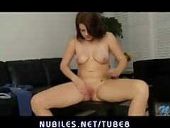 my girlfriend copulates her lust cum-hole while i