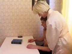 irina and kitchen romantic 1