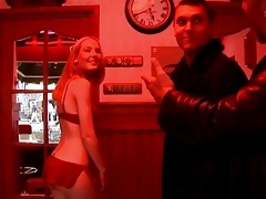 youthful red light lady pleases her hory customer