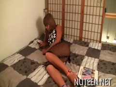 sex appeal legal age teenager chick kneels