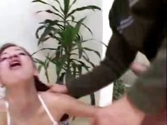 aged guys fuck youthful latin chick gal