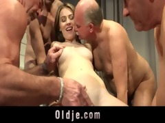 2 old guys gang group-sex wicked juvenile