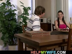 pizza boy does his juvenile wife