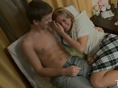 busty legal age teenager acquires a hard ride
