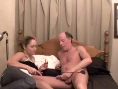 shannon - makes an old pervert boy cum