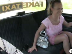 hot blond customer screwed and jizzed on by fraud