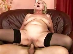 youthful chap fucking corpulent grandma