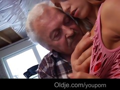 favourable grand-dad gustavo copulates sexy