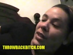 crack whore confession..she like to eat girls raw