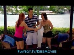 four sexy juvenile miami singles share a abode