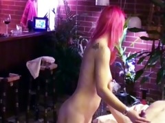 nadjas blow job and cook jerking