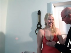lascivious old man likes fucking a breasty legal