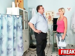awesome blonde vanessa hell weird love tunnel