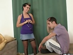 her bf sleeps and she is copulates his brother