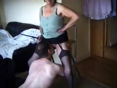 corporalist old lady makes him take up with the