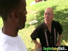 youthful daughter receives pounded by big black