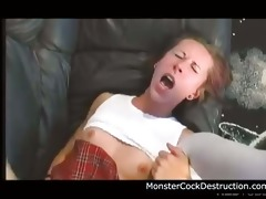 youthful legal age teenager daughter brutally