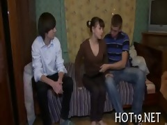 wonderful bang with legal age teenager beauty