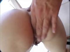 pigtail bruenette fuck by a fellow