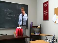 immodest school detention