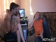 hottie group-fucked by other guy