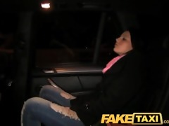 faketaxi cute youthful cutie get to pay her way