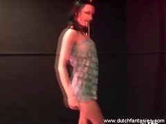 juvenile dutch an astounding pole dancer and jock