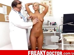 marvelous czech blond nathaly heaven real fur pie