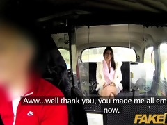 faketaxi fascinating dark brown falls for sugar