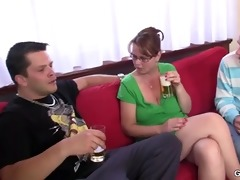 8some party with old sweetheart