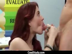 carnal excitement with hawt schoolgirl chick 5