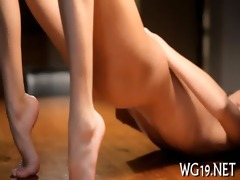 honey plays with sex-toy