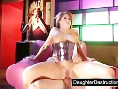 bizarre legal age teenager daughter destruction