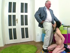 enjoyable pleasuring for teacher