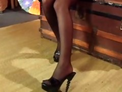 smokin sexy in stockings - scene 9