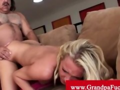addison cain orally gratified by old stud