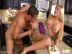facial hardcore golden-haired youthful off taut a