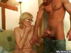 come here old whore and suck my weenie dry!