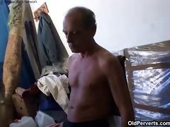 old grandpapa fucking cute blond