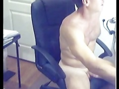 ripped sexy hirsute daddy discharges loan