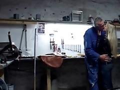 sabrina in car repair part3