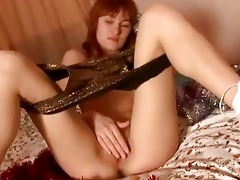 young hotty from russian federation masturbates