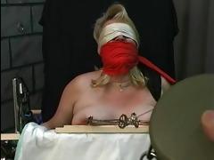old fellow tortures fat blonds big titties