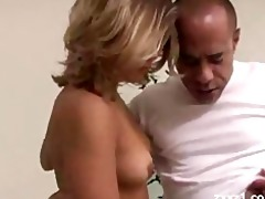 paige turner receives a large pecker