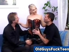 old guys fuck hawt younger chick