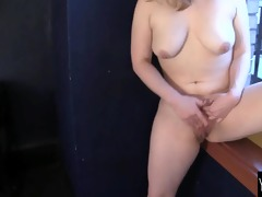 pleasant lili masturbating hard