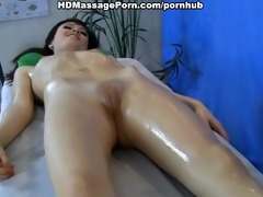 masseur drilled patient with a massage