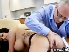 large milk shakes brunette hair fucked