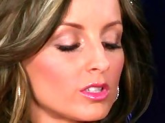 sizzling melissa matters plays with her