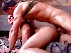 white strong muscle dad screwed raw